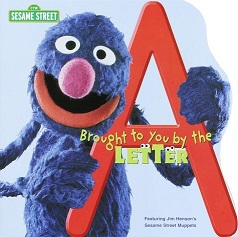 Sesame Street Grover with Letter A
