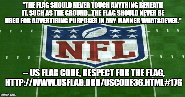 NFL US Flag Shield