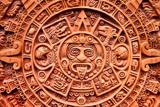 Aztec calendar of the Sun