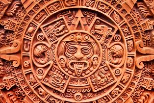 Aztec calendar of the Sun